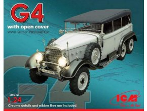 ICM G4 with open cover 1:24 24012