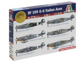 Italeri BF 109 G-6 Italian Aces 1:48 2719