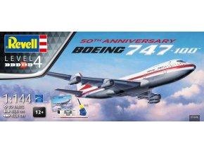 Revell Boeing 747-100 50th Anniversary 1:144 05686