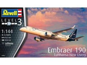 Revell Embraer 190 Lufthansa New Livery 1:144 03883