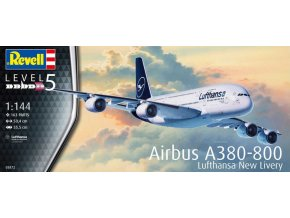 Revell Airbus A380-800 Lufthansa New Livery 1:144 03872