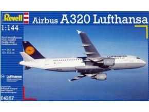 Revell letadlo Airbus A320 Lufthansa 1:144 04267