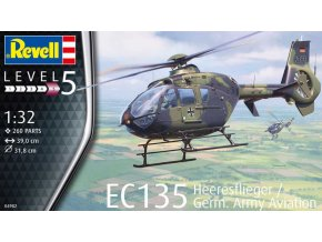 Revell EC 135 Heeresflieger / German Army Aviation 1:32 04982