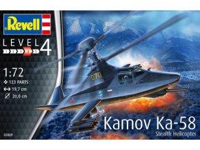 Revell Kamov Ka-58 Stealth 1:72 03889