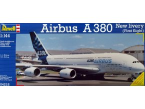 Revell letadlo Airbus A380 Design New livery 1:144 04218