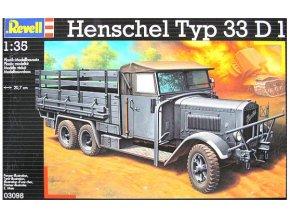 Revell Henschel Typ 33 D1 1:35 03098