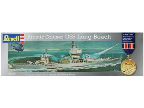 Revell Atomic Cruiser USS Long Beach 1:460 00022
