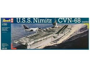 Revell U.S.S. Nimitz CVN-68 (early) 1:720 05130