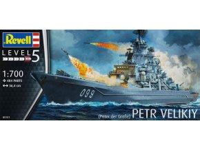 Revell Petr Velikiy 1:700 05151