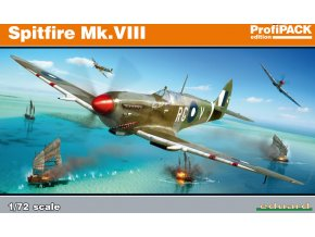 Eduard Spitfire Mk. VIII 1:72 70128