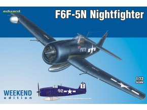 Eduard F6F-5N Nightfighter 1:72 7434