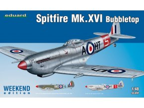Eduard Spitfire Mk. XVI Bubbletop 1:48 84141