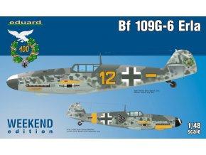 Eduard Bf 109G-6 Erla 1:48 84142