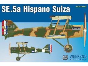 Eduard SE.5a Hispano Suiza 1:48 8453
