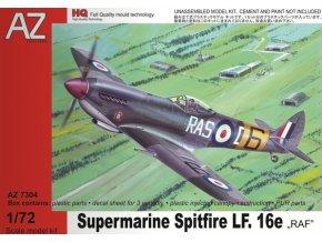AZ model Supermarine Spitfire LF Mk.XVI 1:72 AZ 7304