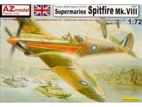 AZ model Spitfire Mk.VIII RAF 1:72 AZ 7378