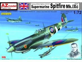 AZ model Supermarine Spitfire Mk.IXc ,,Aces'' 1:72 AZ 7391