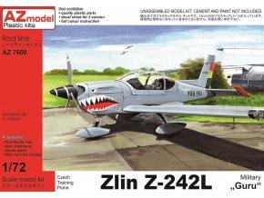 AZ model Zlin Z-242L Guru Military 1:72 AZ 7608