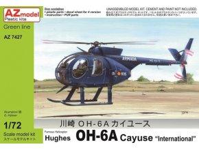 AZ model Hughes OH-6A CAYUSE 1:72 AZ 7427