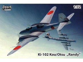 Sword Ki-102 a/b,Kou/Otsu Randy 1:72 72124