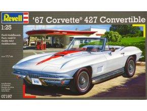 Revell 67 Corvette 427 Convertible 1:24 07197