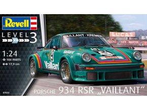Revell Porsche 934 RSR Vaillant 1:24 07032