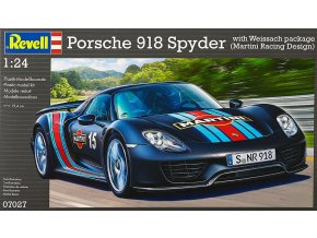 Revell Porsche 918 Weissach Sport 1:24 07027