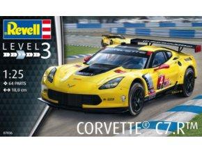 Revell Corvette C7.R 1:24 07036