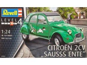 Revell Citroen 2 CV Sauss Ente 1:24 07053