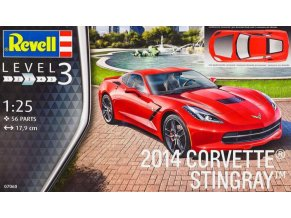 Revell 2014 Corvette Stingray 1:25 07060