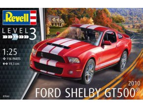 Revell 2010 Ford Shelby GT 500 1:25 07044