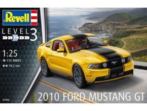 Revell 2010 Ford Mustang GT 1:25 07046