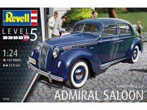 Revell Luxury Class Car Admiral Saloon 1:24 07042