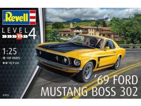 Revell 1969 Boss 302 Mustang 1:25 07025