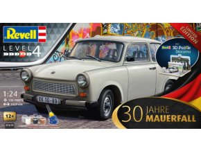 Revell trabant 30th Anniversary Fall of the Berlin Wall 1:24 07619