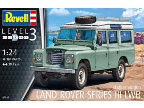 Revell Land Rover Series III 1:24 07047