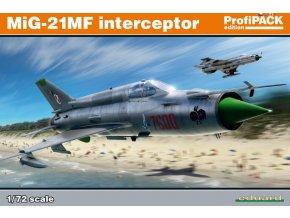 Eduard MiG-21MF interceptor 1:72 70141