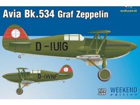 Eduard Avia Bk-534 Graf Zeppelin 1:72 7445