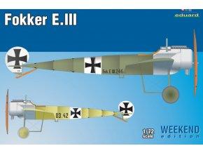 Eduard Fokker E. III 1:72 7444