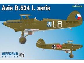 Eduard Avia B-534 I. série 1:72 7446