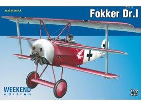 Eduard Fokker Dr. I 1:72 7438