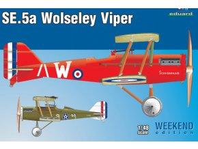 Eduard SE.5a Wolseley Viper 1:48 8454