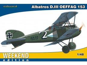 Eduard Albatros D. III OEFFAG 153 1:48 84150