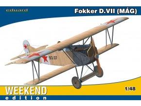 Eduard Fokker D. VII MAG 1:48 84156