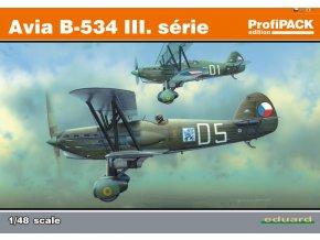 Eduard Avia B-534 III. série 1:48 8191