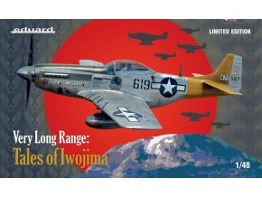 Eduard P-51D VERY LONG RANGE: Tales of Iwojima 1:48 11142