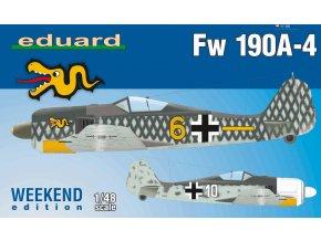 Eduard Fw 190A-4 1:48 84121