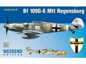 Eduard Bf 109G-6 MTT Regensburg 1:48 84143