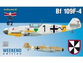 Eduard Bf 109F-4 1:48 84146