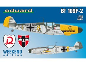 Eduard Bf 109F-2 1:48 84147